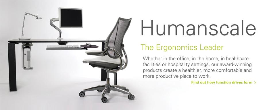 Humanscale: Ергономични офис столове и уреди
